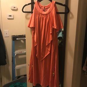 Milly Trapeze Mini Dress, Size S
